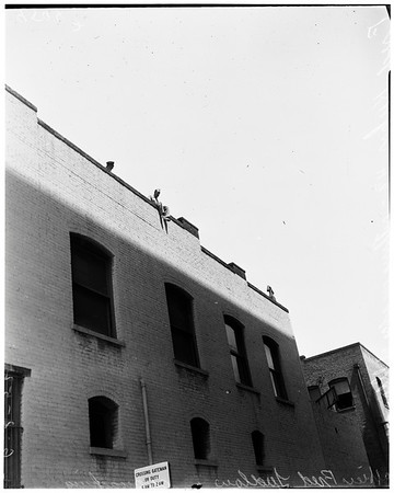 Attempt suicide -- Pasadena, 1952