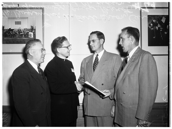 Ministers convocation, 1952