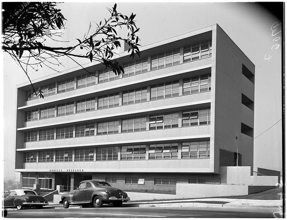 New University of Southern California research building (2025 Zonal Avenue), 1952