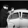 Peeping Tom caught near Nurse's School (1328 South Hope Street, Los Angeles), 1952