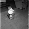 Boy stuck in ice cream freezer, 1952