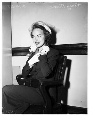Moore divorce, 1952