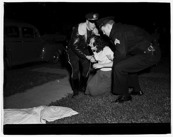 Shooting at 817 78th Street, 1952