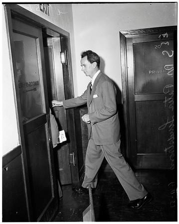 Doctor Peter Lindstrom, 1952