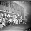 Western Union strike (741 South Flower Street), 1952