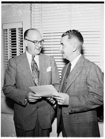 Veterans Administration Voluntary Service Award to Examiner, 1952