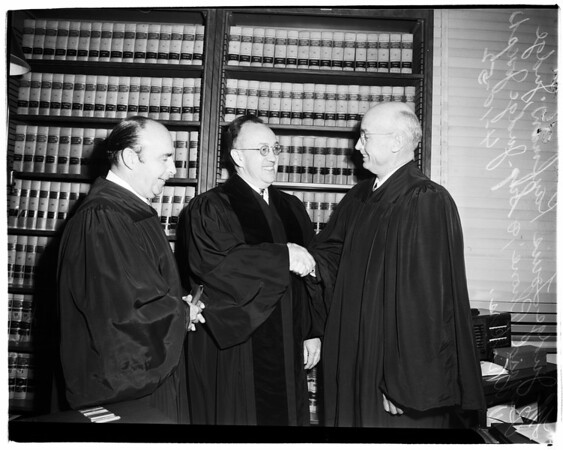 New Municipal Court Judge, 1952
