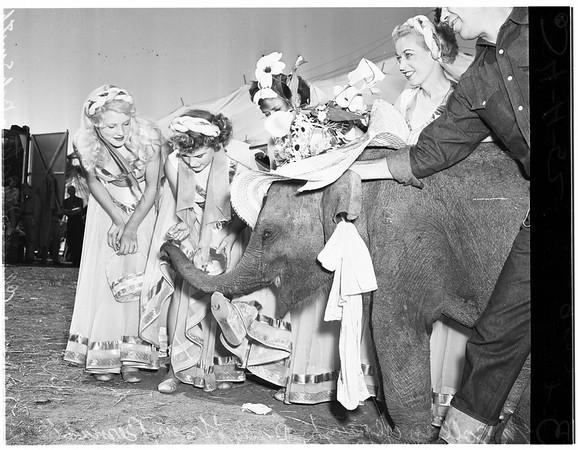 Clyde Beatty Circus, 1952