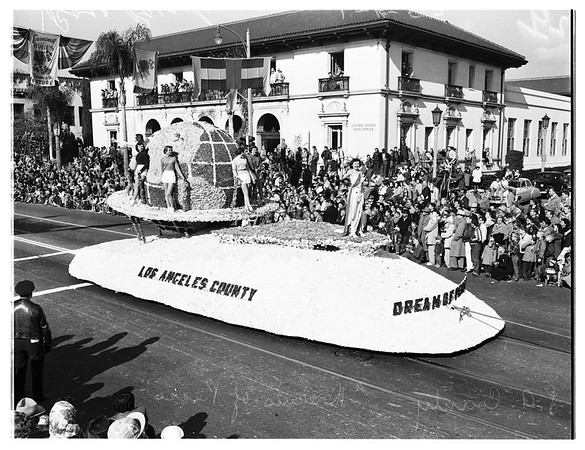 Tournament of Roses floats, 1952