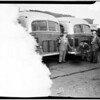 Smog, Pacific Electric bus smoke, 1950