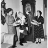Archbishop's Christmas party, 1952