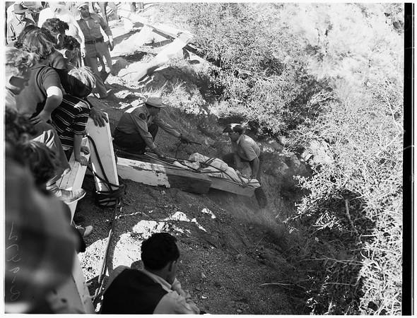 Angeles Crest Highway accident, 1952
