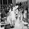 Halloween costumes at schools, 1952
