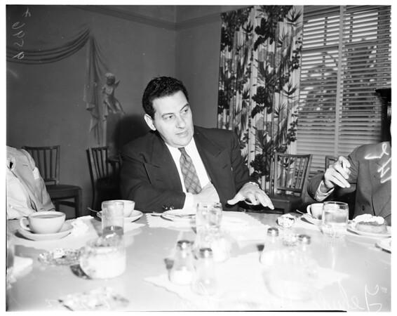 Yehuda Harry Levin, 1952