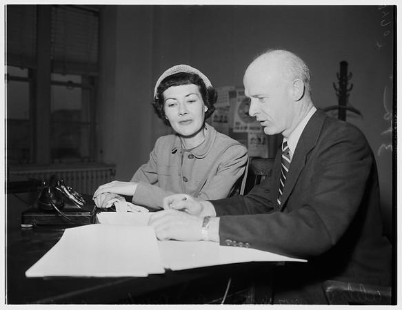 Communist witness, 1952