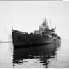 """Canadian Cruiser stops here (""""Quebec""""), 1952"""