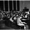 Chaffey Junior College Symphony Orchestra and 80 member symphonic choir, 1952