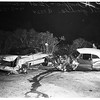 Auto accident at 7th Street and the Ambassador Hotel grounds, 1952