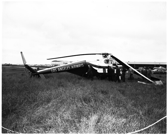 Helicopter crash at Los Angeles International Airport, 1952