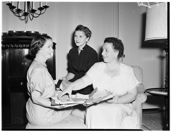Alpha Xi Delta convention planning, 1953