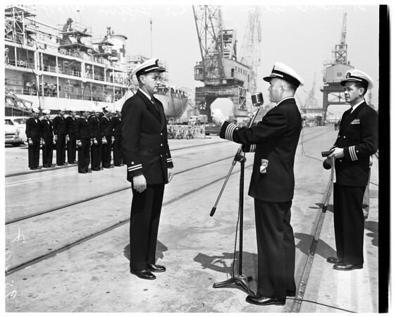 "Champion Minesweepers (USS ""Redstart""), 1952"