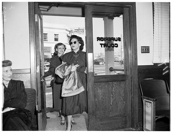 Custody case, 1952