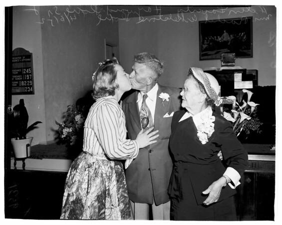 Wedding at Pomona, 1952