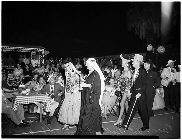 Desert circus (Palm Springs), 1952
