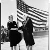 Gold Star Mother's convention, Long Beach, 1952