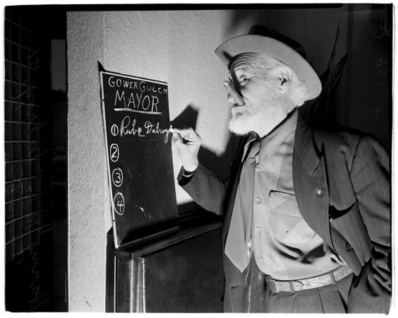 Gower Gulch Mayor, 1952