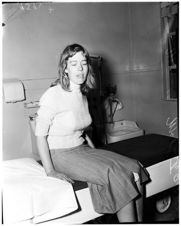 Rape victim (Georgia Street Hospital), 1952
