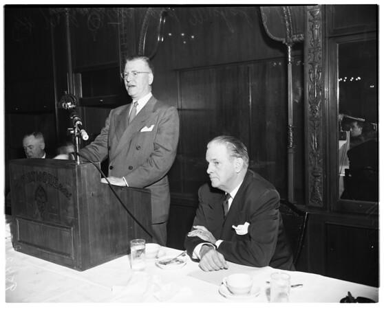 Businessmen's meeting, 1952