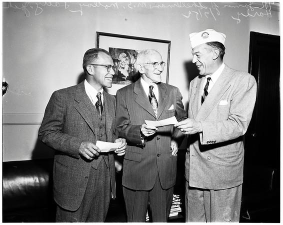American Veterans awards, 1952