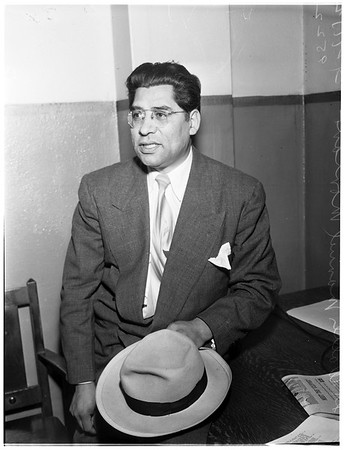 Evangelist who will address rally at church of open door... March 31, 1952