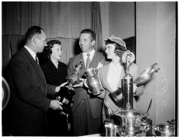 University club, 1952