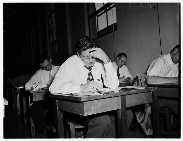 California Bar Examination, 1952