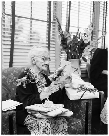 One hundredth birthday, 1952