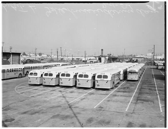 Los Angeles Transit Lines (fare raise), 1952