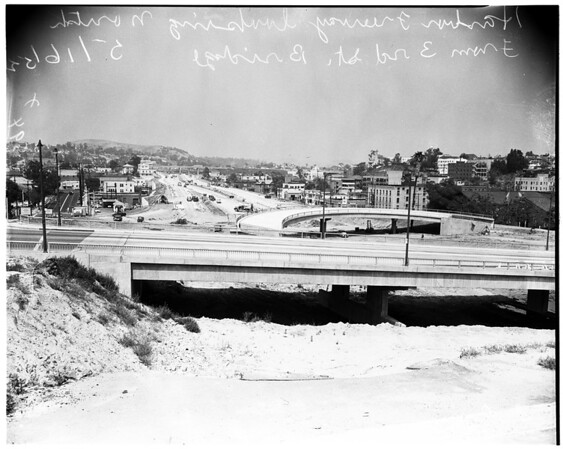 Harbor Freeway, 1952