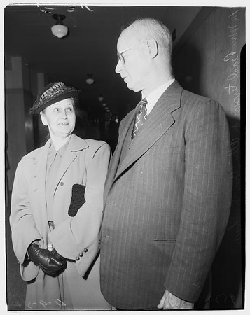 Will trial sentence, 1952