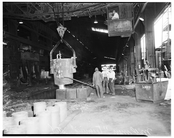 Columbia steel shutdown (Torrance), 1952