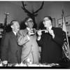 Biscailuz -- Meacham Statler Hotel greeting, 1952