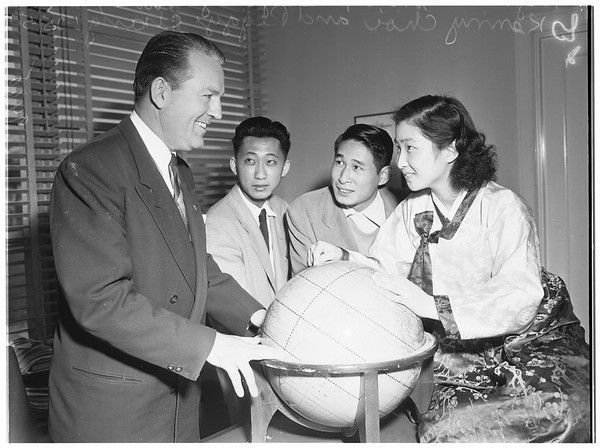Pepperdine College Koreans, 1952