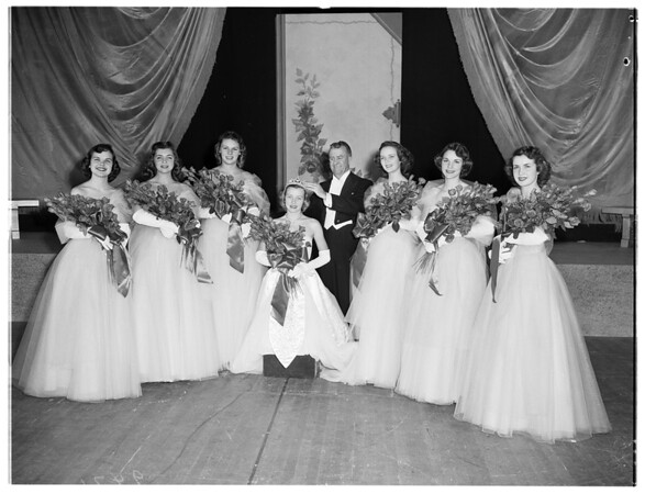 Coronation of Rose Queen, 1951