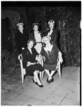 Assistance League day nursery, 1953