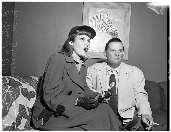 Ann Sterling beating story, 1952