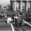 Individuals in Rose Parade ...also groups on horseback, 1952