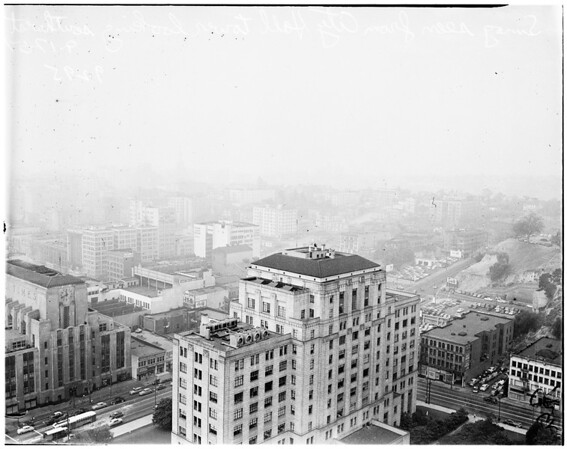 Smog and our fair city (a smelly story), 1951