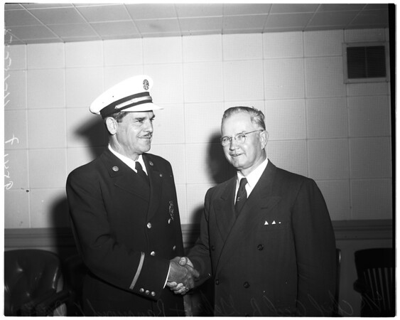 New County Fire Chief, 1952