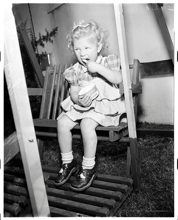 German war orphan, 1952